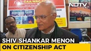 Citizenship Law Made Diplomacy Difficult, Says Ex-NSA Shiv Shankar Menon
