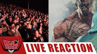 GANRYU AND FAHKUMRAM IN TEKKEN 7 LIVE CROWD REACTION!!!