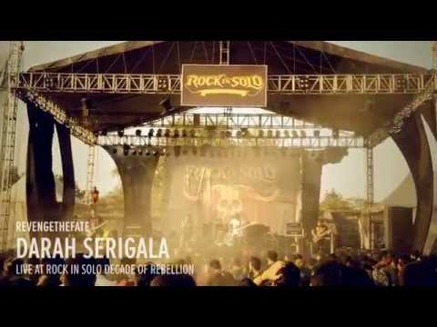 REVENGE THE FATE - DARAH SERIGALA (Live at RockinSolo Decade of Rebellion)