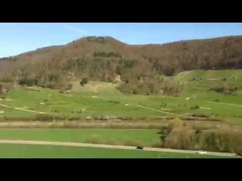 Hyperlapse by Train - Between Basel and Zürich