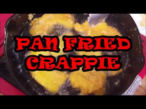 PAN FRIED CRAPPIE, RICHARD IN THE KITCHEN