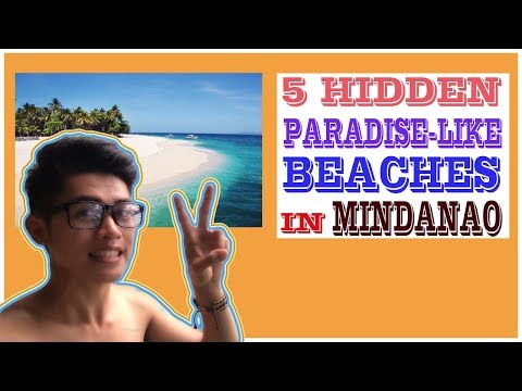 5 HIDDEN PARADISE-LIKE BEACHES in Mindanao, Philippines | 2017