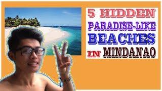 5 HIDDEN PARADISE-LIKE BEACHES in Mindanao, Philippines   2017
