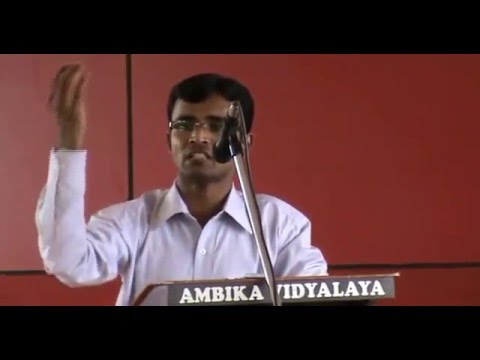 Independence Day Speech at Ambika College (2012)- Kannada