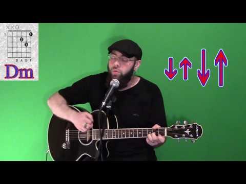 Как играть Агата Кристи   Ковер вертолет на гитаре   аккорды   бой