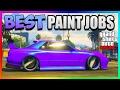 GTA 5 Online - Best RARE Paint Jobs & SEXY Car Color Schemes - Purple Grape! (GTA 5 Paint Jobs)