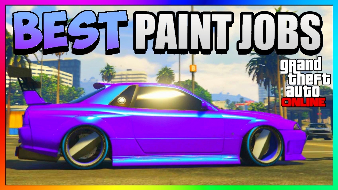 Test Paint Color Online Gta 5 Online Best Rare Paint Jobs Sexy Car Color Schemes