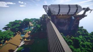Minecraft - Wikinger Stadt ( geil-o-matik )