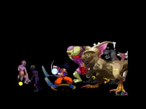 Goku Vs 2222 Enemies (Survival mode Crazy Zombie 9)