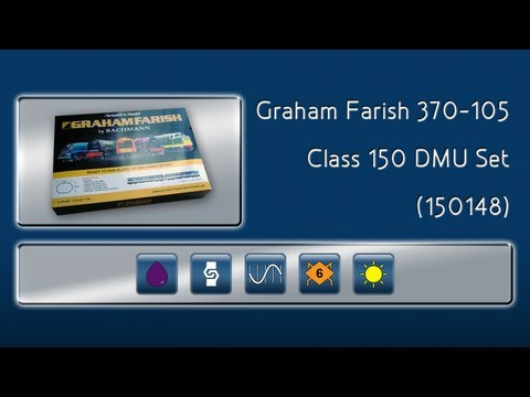 Opening the Class 150 N Gauge Starter Set by Graham Farish