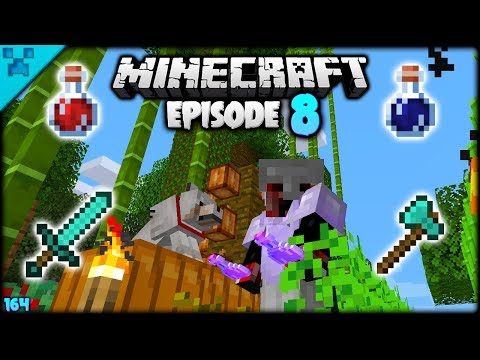potions,-pets-&-preparations!-|-python's-world-(minecraft-survival-let's-play-s3-1.14)-|-episode-8