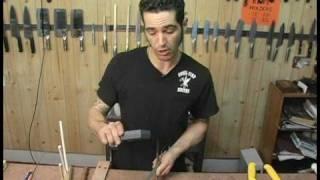 Knife Sharpening : How to Sharpen Scissors