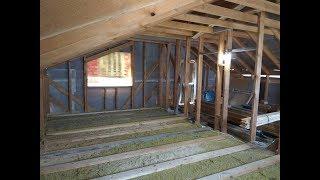 Простое укрепление деревянных балок перекрытия в своем доме