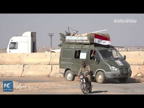 Syrian army restores main border crossing with Jordan