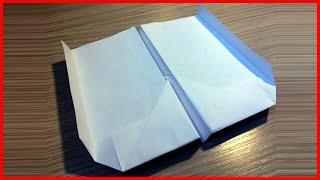 как сделать самолет из бумаги пошаговая инструкция