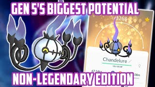 Gen 5 Non-Legendary Pokemon With The Biggest Potential In Pokemon Go!