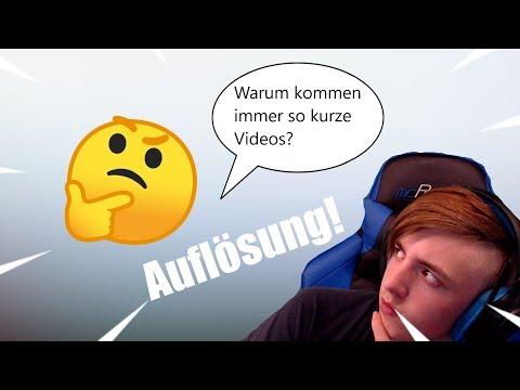 Warum Immer So Kurze Videos Kommen! | Infovideo [HD Deutsch]