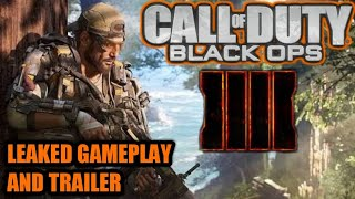 Call Of Duty Black Ops 4 leaked trailer and gameplay!