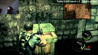 Resident Evil 5 Coop with Aris and Rickstah Part 1
