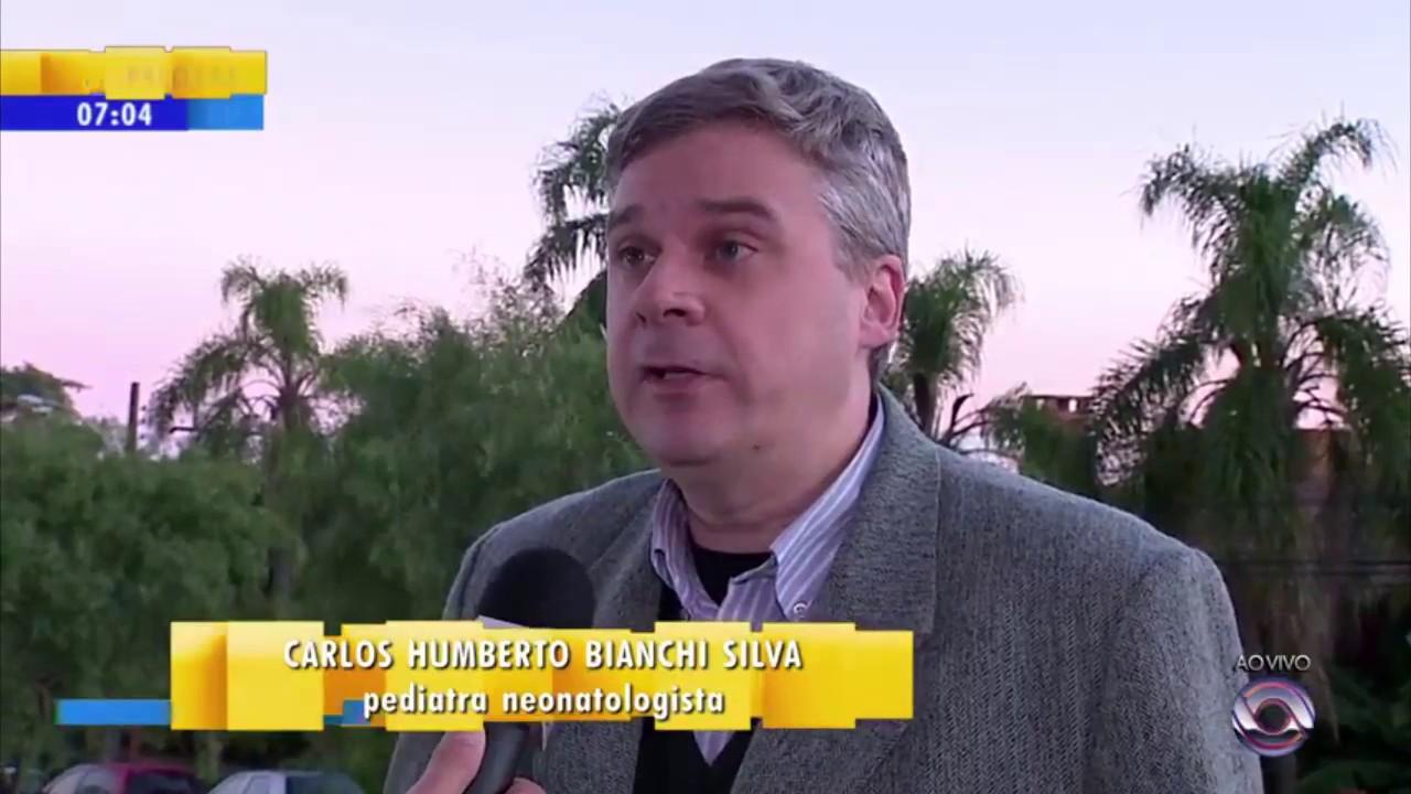 22052017 Sociedade De Pediatria Do Rs Bom Dia Rio Grande Rbs Tv