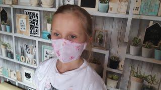 Как сшить защитную маску для лица из ткани