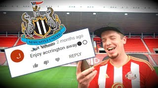 REACTING TO NEWCASTLE FAN'S COMMENTS ON SUNDERLAND'S RELEGATION!