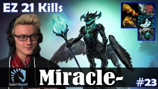Miracle - Outworld Devourer MID | EZ 21 Kills 7.08 Update Patch | Dota 2 Pro MMR Gameplay #23