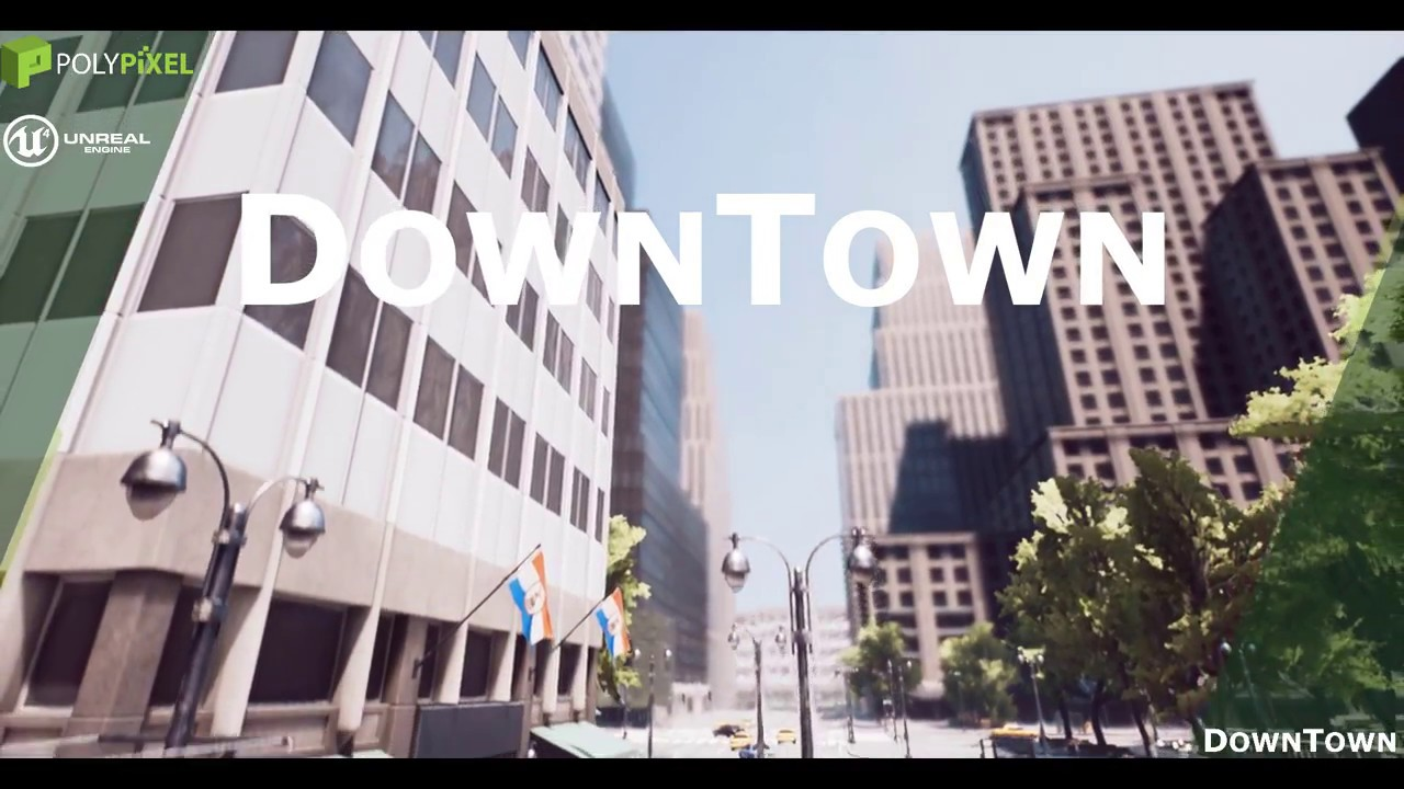 Unreal Asset] Downtown | Board4All