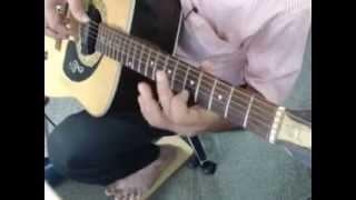 Mere Rashke Qamar single string guitar tabs lead lesson tutorial cover