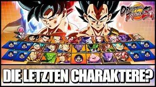 Welche CHARAKTERE kommen noch ins Game? w/ Raafey | Dragon Ball: FighterZ