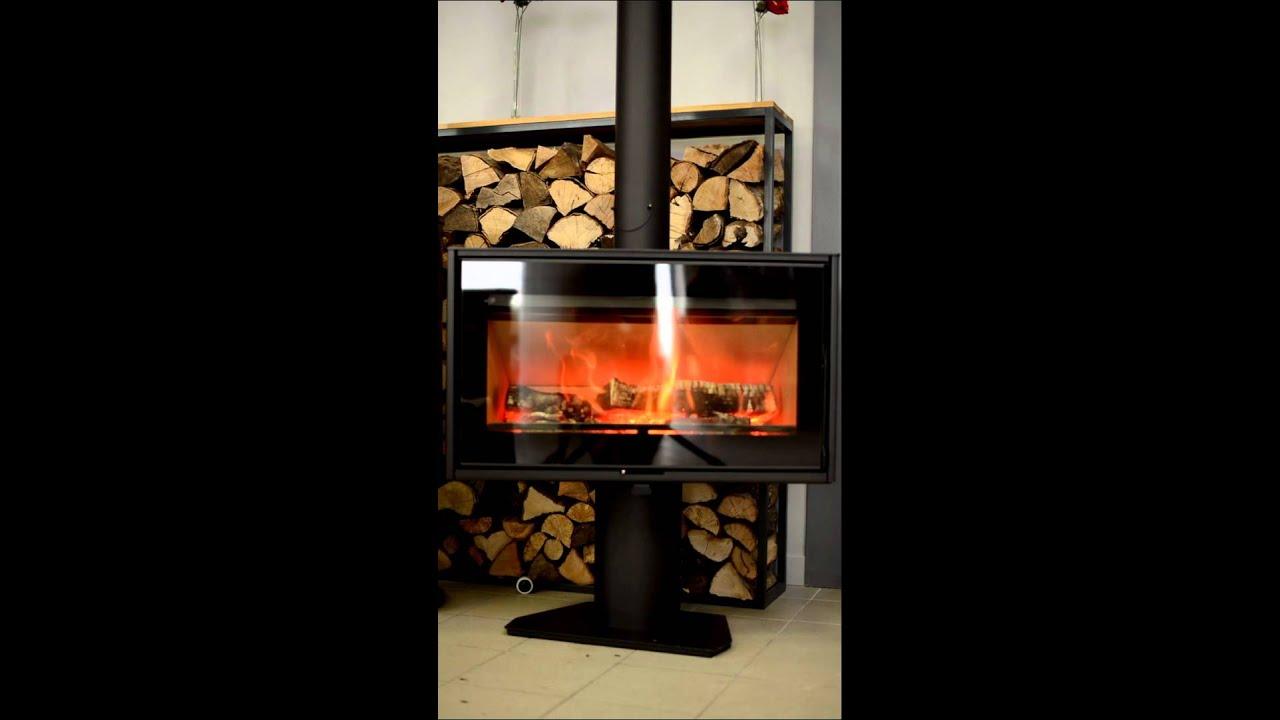 po le bois sl 100 de chez heta youtube. Black Bedroom Furniture Sets. Home Design Ideas