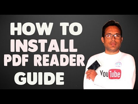 How To Instal & Download PDF Reader Free For Windows 7 On Computer In Urdu