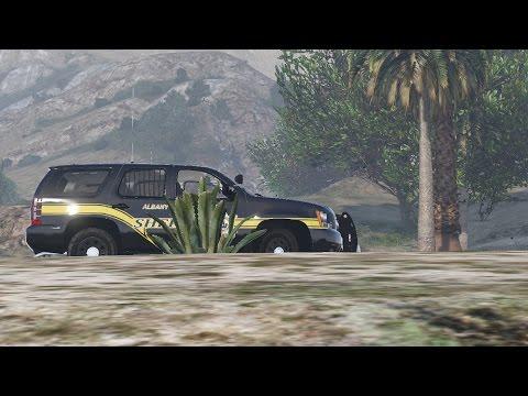 Albany County Sheriff's 2013 Tahoe - EX 113 - Grand Theft Auto V