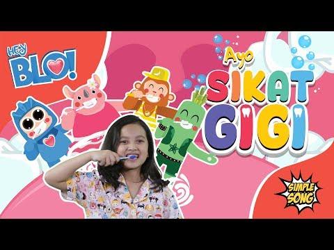 Ayo Sikat Gigi Feat. Rara Sudirman - Lagu Anak | HEY BLO!