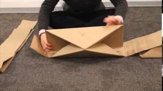 Cardboard Chair Module by Won