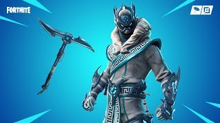 Fortnite new skins. SNOWFOOT AND INVERTED BLADE PICKAXE