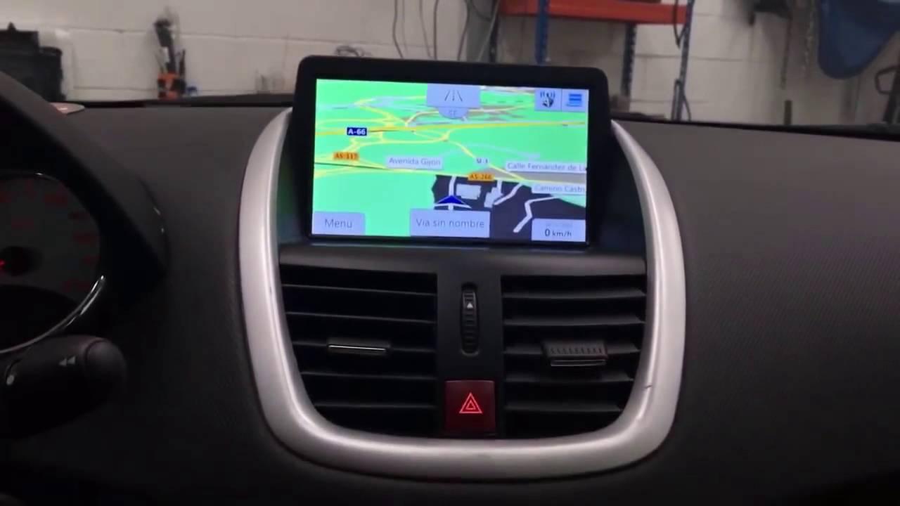 Radio Multimedia ANDROID QuadCore S160 para Peugeot 207 - YouTube