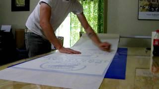 Easy Application Tape Method - Diy Roller