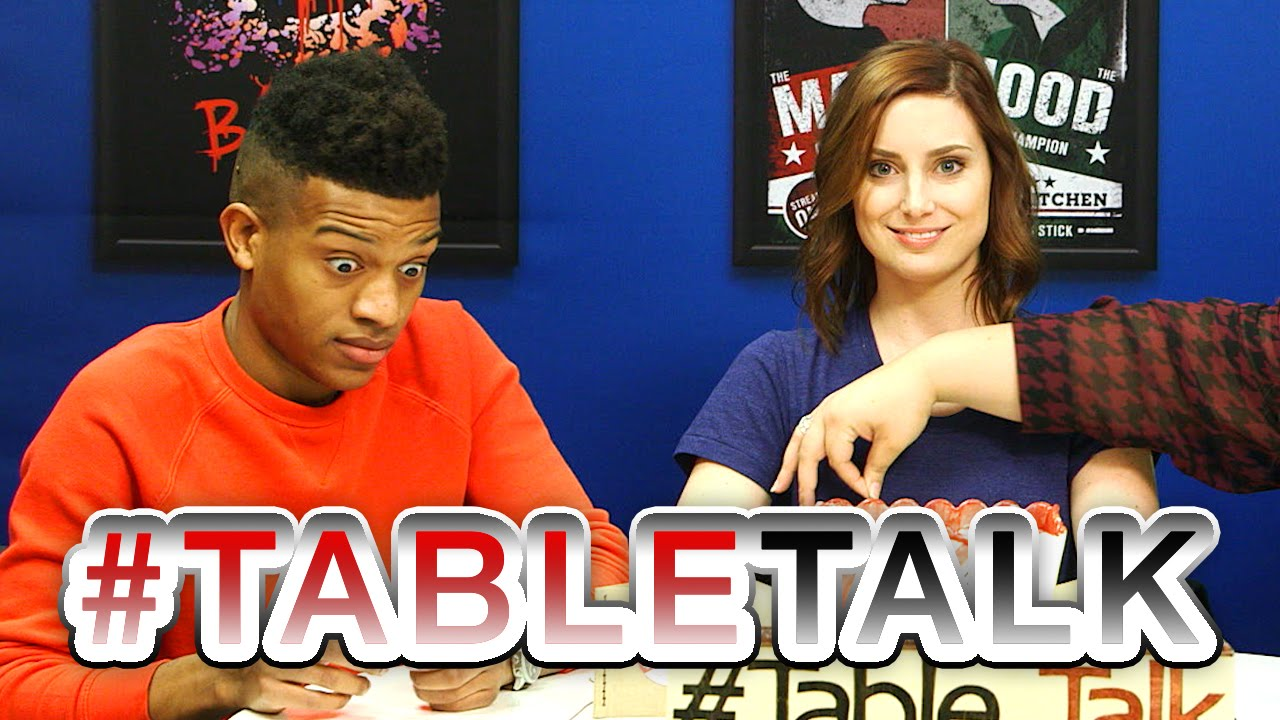 Touch the Tit on #TableTalk! - YouTube