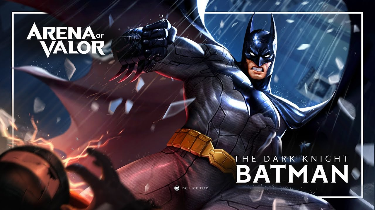 Batman Hero Spotlight Gameplay Arena Of Valor