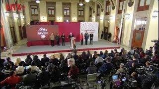 Conferencia de prensa de AMLO, 17 de enero