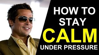 5 Ways Successful People Stay Calm in Stressful Situations (ANIMATED)