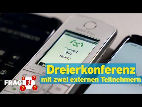 FRITZ!Fon: Konferenz zu dritt mit zwei externen Teilnehmern   Frag FRITZ! 62