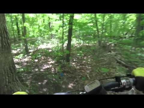 Beulah Park Mountain Bike Trails - Zion, Illinois