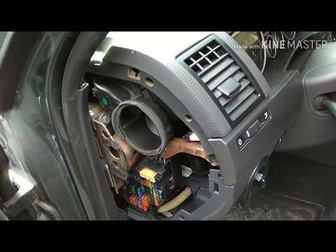 Volkswagen Touareg Боковой дефлектор воздуховода как снять поставить ®️