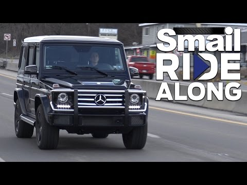 2017 Mercedes-Benz G-Class G 550 4MATIC SUV - Smail Ride Along - Review & Test Drive