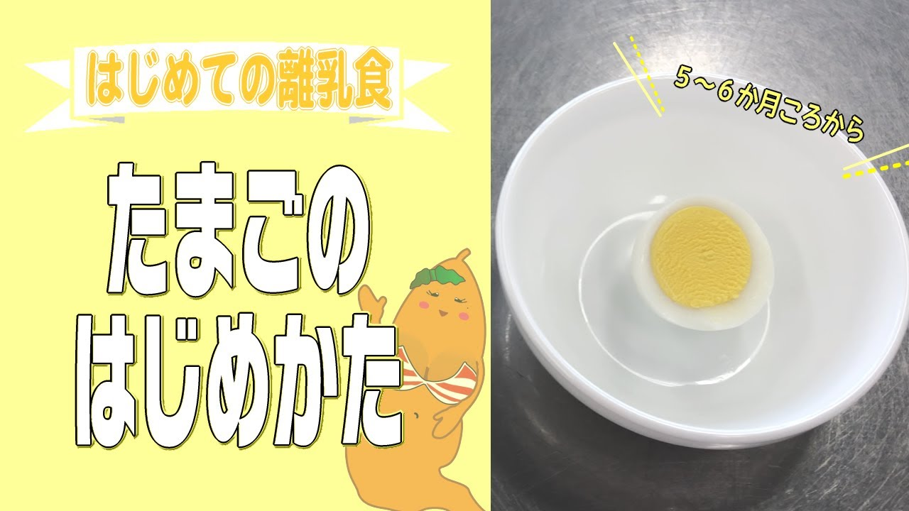 卵黄 離乳食