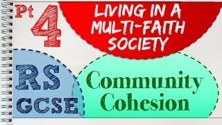 GCSE RS Unit 3.4 (Part 4 of 4) Multi-Faith Society | by MrMcMillanREvis