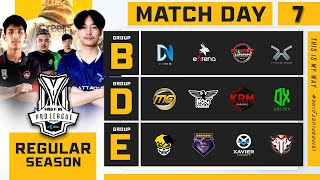 Free Fire Pro League Season 4 : Regular Season Day 7