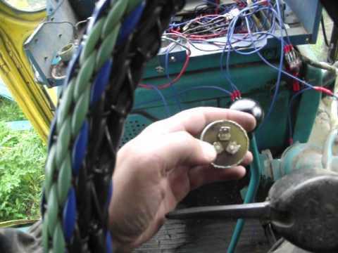 Как подключить реле поворотов на тракторе
